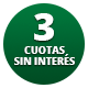 3 cuotas s/int