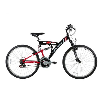 BICICLETA HOMBRE HALLEY TY-05Y POWER FULL R-26 18V COLOR NEGRO/ROJO