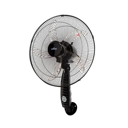 "VENTILADOR DE PARED KACEMASTER 20"" NEGRO CT9A-WHEEL"
