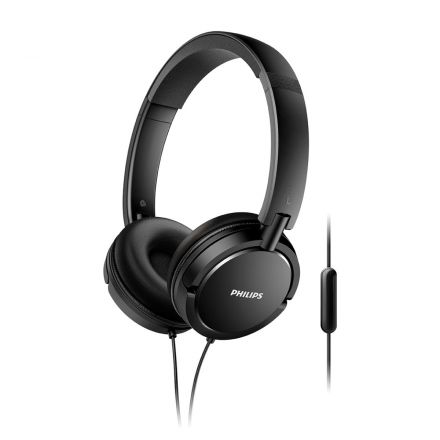 AURICULARES C/CABLE PHILIPS SHL5005/00 NEGRO