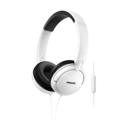 AURICULAR CON CABLE PHILIPS SHL5005WH/00 BLANCO