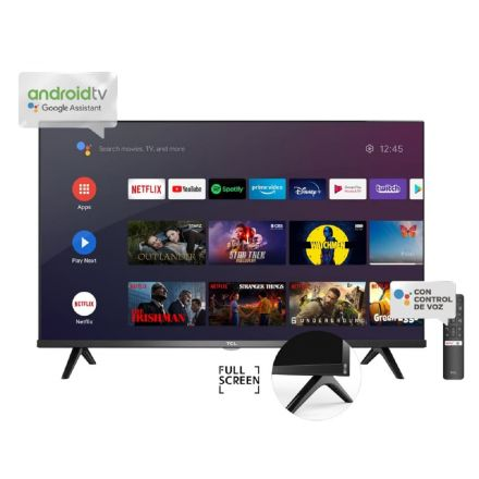 "SMART TV 32"" TCL L32S60 A-B GOOGLE ASSISTANT NEGRO."