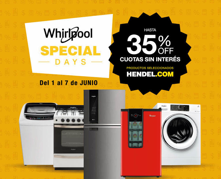 Whirlpool Special Days!