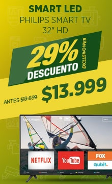 Ofertas en Smart TV Philips!